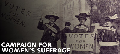 Campaign for Women's Suffrage (Summary)