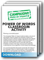 Download The Power of Words Classroom Activity