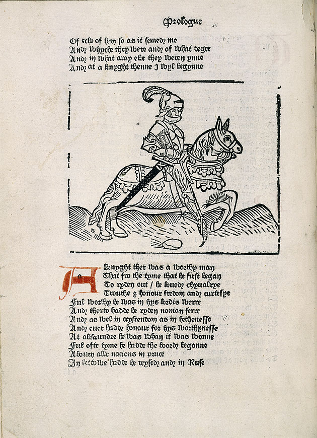 Image of Caxton's Chaucer