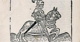 Detail of Caxton's Chaucer