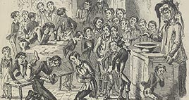 Detail of Illustration from Nicholas Nickleby
