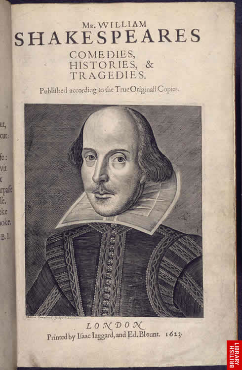 Image of Portrait of Shakespeare