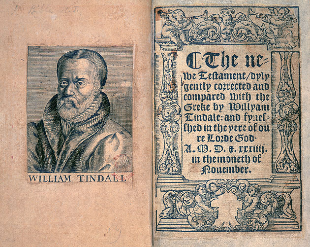 Image of Tyndale's bible