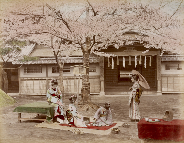 Photo 752/24(253). Japanese women around the end of 19th Century.