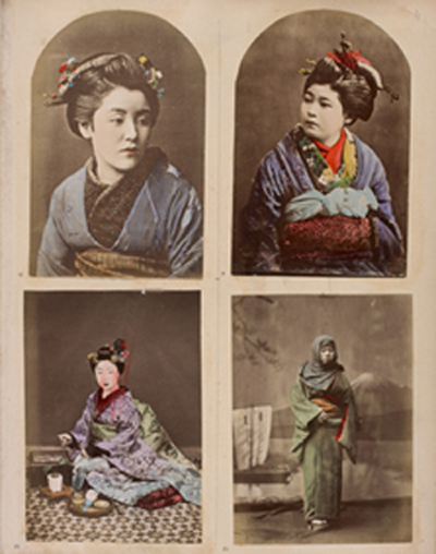 Portrait of Japanese Woman. Add49352.