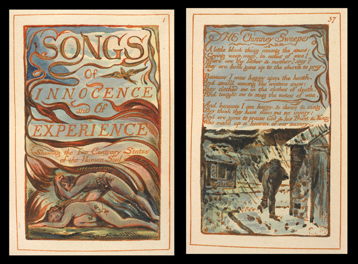 William Blake, Songs of Innocence and Experience, 1794