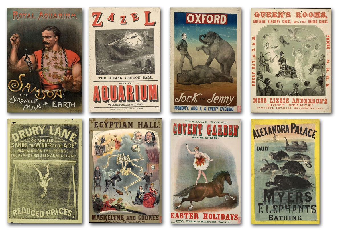 Victorian Circus Posters