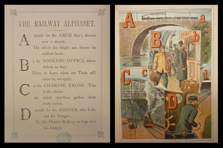 The Railway Alphabet Book