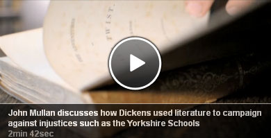 John Mullen discusses how Dickens used literature to campaign against injustices such as the Yorkshire Schools