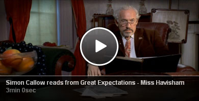 Simon Callow reads from Great Expectations - Miss Havisham