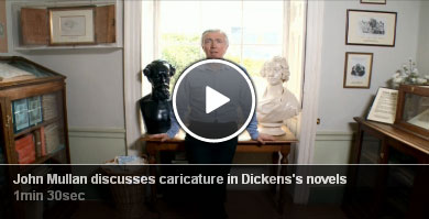 John Mullen discusses caricature in Dickens's novels