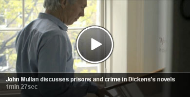 John Mullan discusses prisons and crime in Dickens's novels.