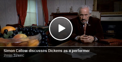 Simon Callow  discusses Dickens as a performer