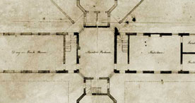 Floor Plan of Epping Union Workhouse, 1837