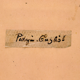 Detail of C. G. Leland Collection 'Pidgin-English'