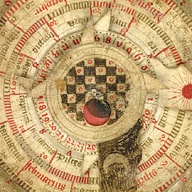 Detail of astronomical calendar