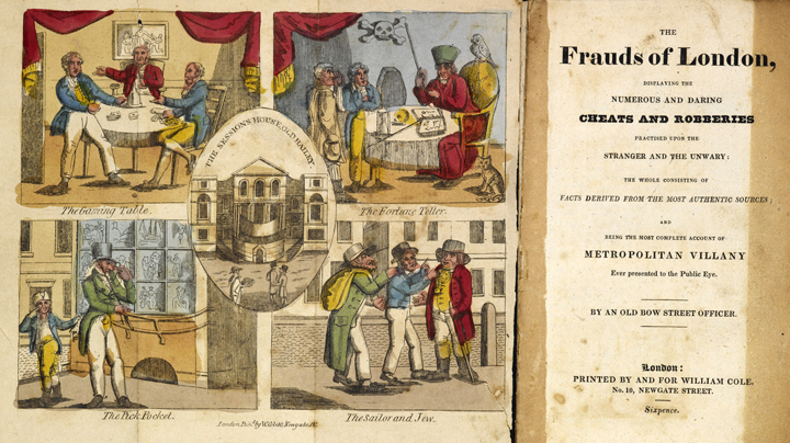 The Frauds of London, 1829