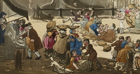 London's Billingsgate fish market