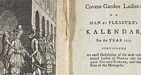 Harris's List of Covent-Garden Ladies, 1773