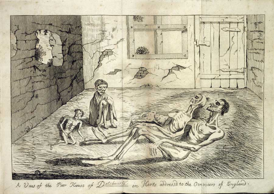 An account of the four persons found starved to death, at the poor house in Datchworth, 1769