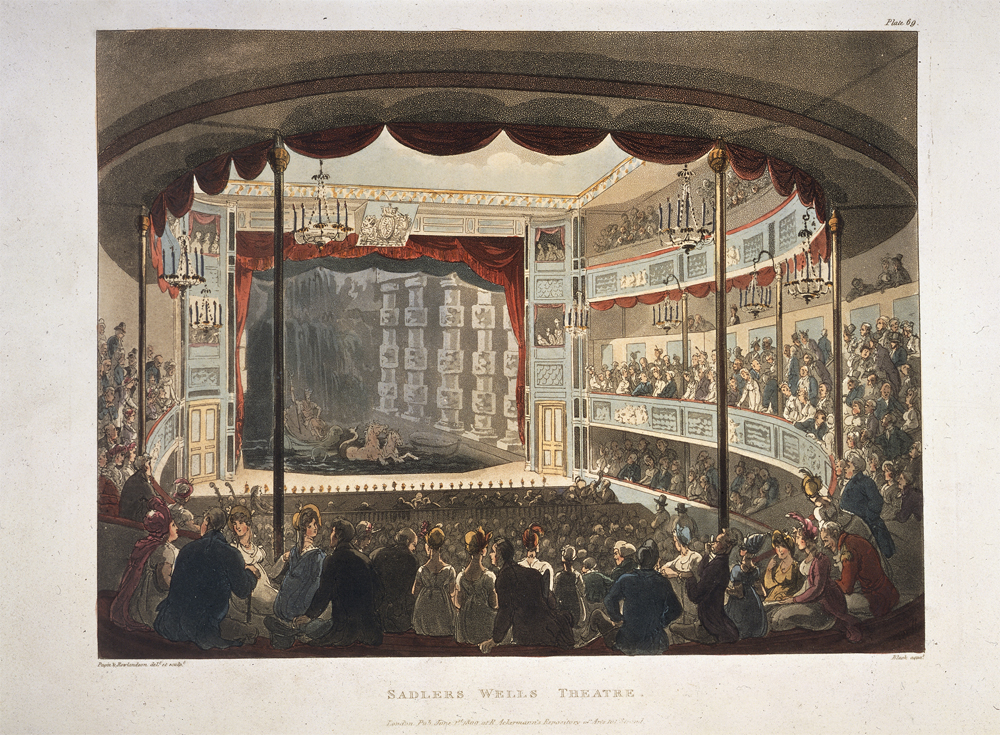 Drury Lane Theatre, 1808