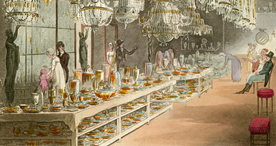 Shopping for glassware, 1809