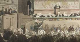 A trial at the Court of Kings Bench, 1808