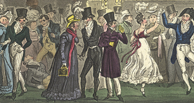 Fashionable entertainments at Vauxhall Pleasure Gardens, 1823