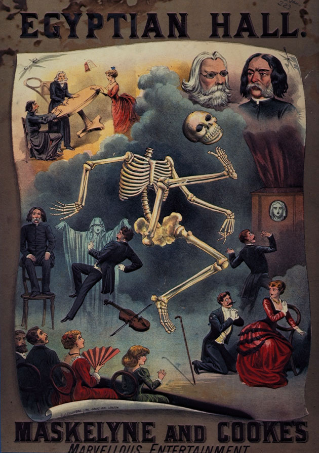 Image of a poster for a magic show