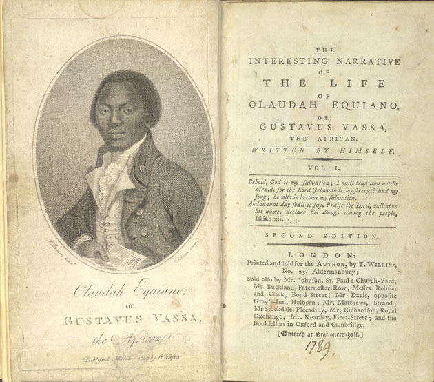 Frontispiece image of Equiano