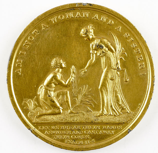 Abolitionist medallion