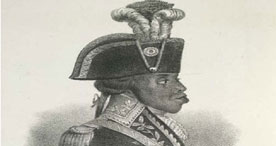 Portrait of Toussaint Louverture, 1088.o.e.42, frontispiece