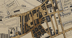 Map of Leeds, 1842