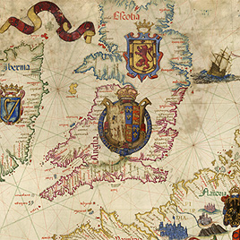 Image of Map of British Isles