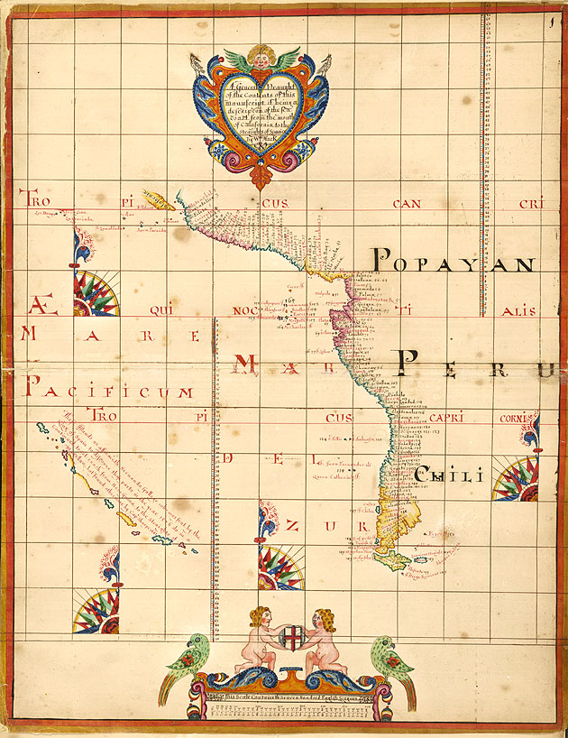 Image of Chart of the West Coast of South America