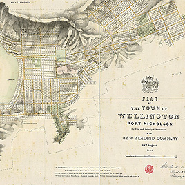 Detail of Plan of Wellington