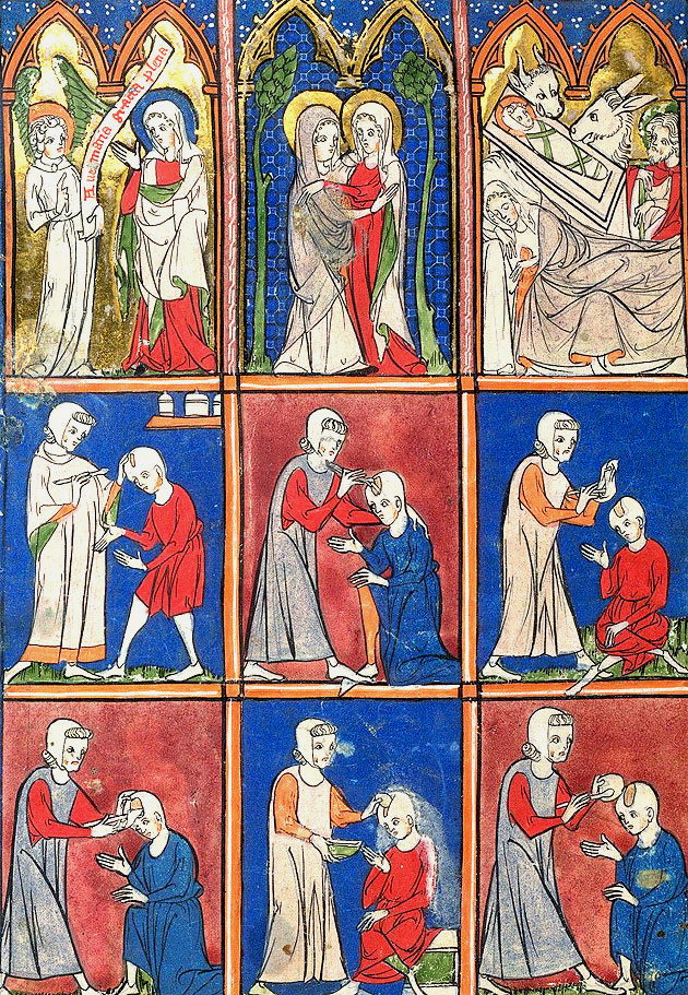 Surgical procedures, Sloane 1977 f.2, c.1300
