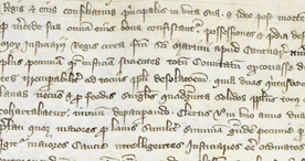 A firsthand account of the Black Death written at the Cathedral of Rochester, 1314 - 1350