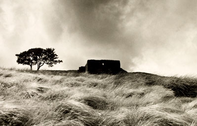 Top Withens near Haworth, Yorkshire 1977, by Fay Godwin © British Library