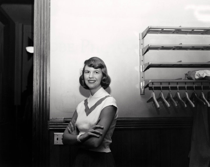 Sylvia Plath - Image Copyright Smith College Archives