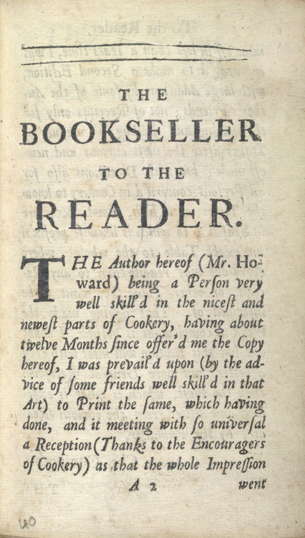Image of Bookseller to the Reader