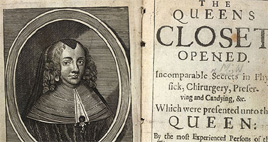 Detail of The Queen's Closet Opened - Title Page