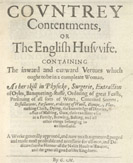 Detail of Countrey Contentments