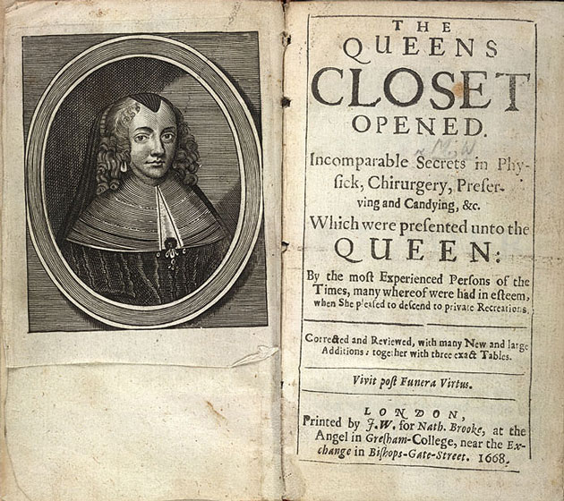 Image of The Queen's Closet Opened - Title Page