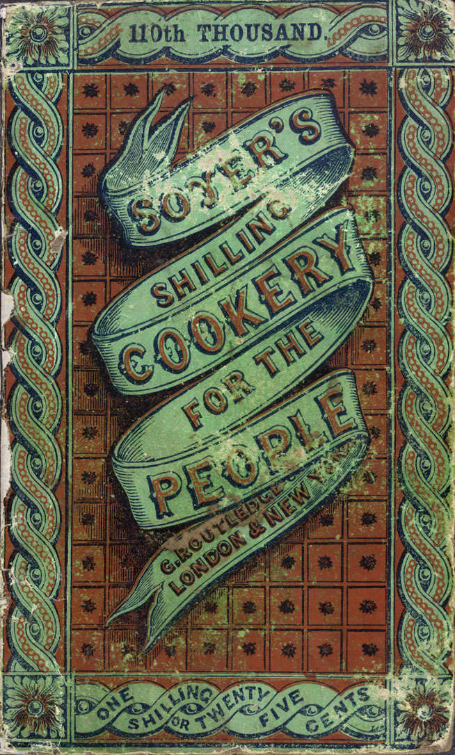 Image of Soyer's Shilling Cookery - Front Cover