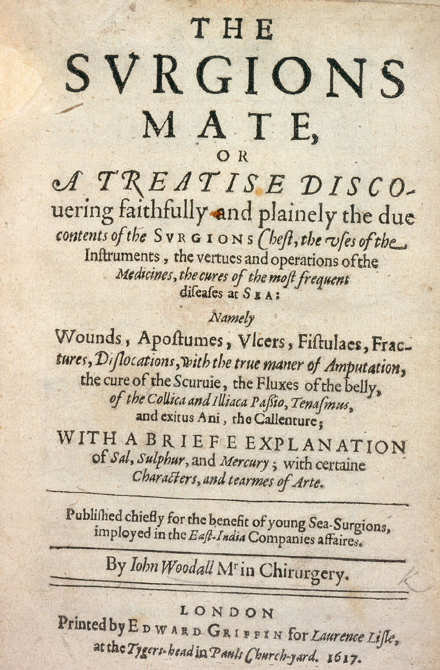 Image of The Surgions Mate, Title Page