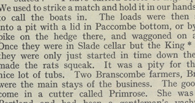 Detail of Smuggling Days in Devon - Rats p.38