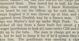 Detail of Smuggling Days in Devon - Crab Bait p.39