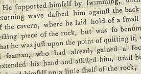 Detail of An Interesting and Authentic Account of the Halsewell, page 21