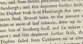 Detail of Tobacco and Gin p.13